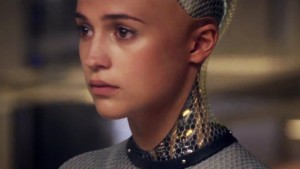 Feelings! Ava from Ex Machina